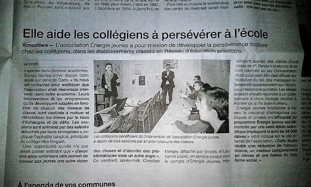 REVUE PRESSE : LES REPORTAGES EN RÉGION